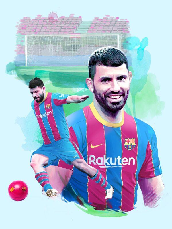 Barcelona oficializa Kun Aguero