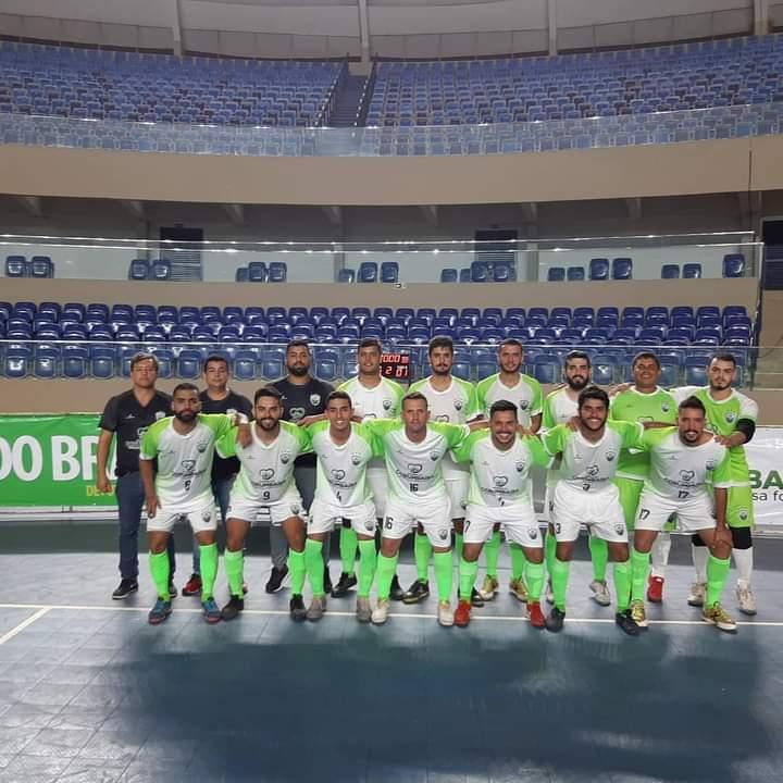 Corumbaíba empata com o Brasília na Copa do Brasil de Futsal