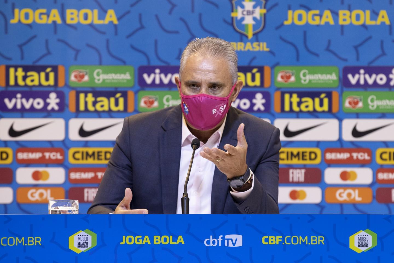 Brasil está convocado para os jogos das eliminatórias para a Copa do Mundo