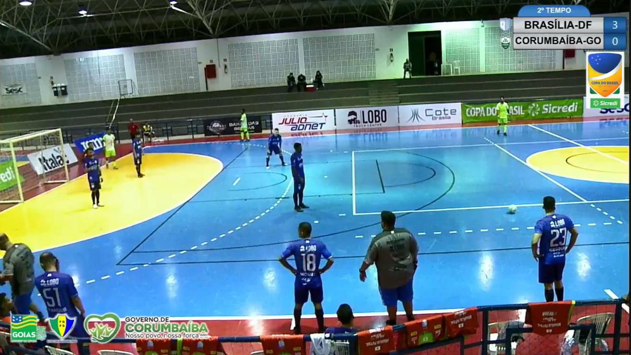 Corumbaíba perde e está fora da Copa do Brasil de Futsal