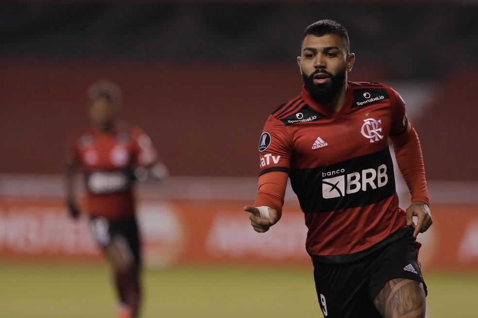 Gabriel Barbosa está perto de se tornar o brasileiro com mais gols na Libertadores