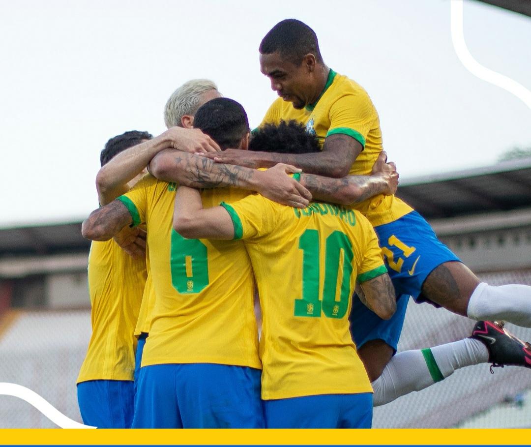 Brasil vence a Sérvia em amistoso preparatório para as olimpíadas