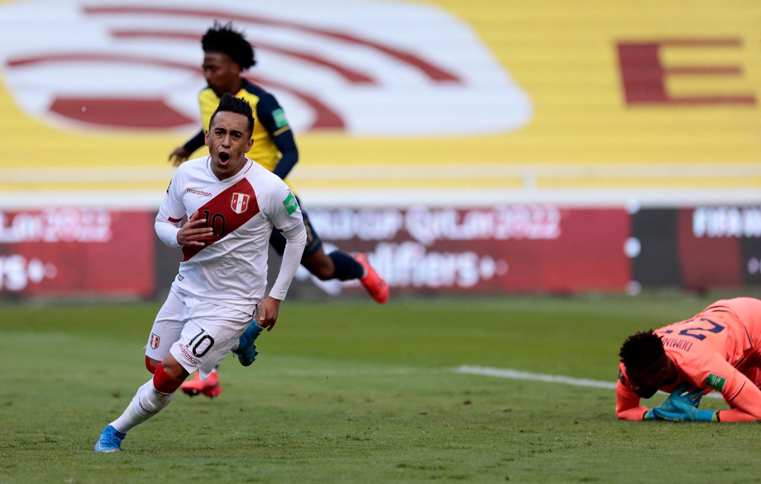 Peru vence o Equador fora de casa