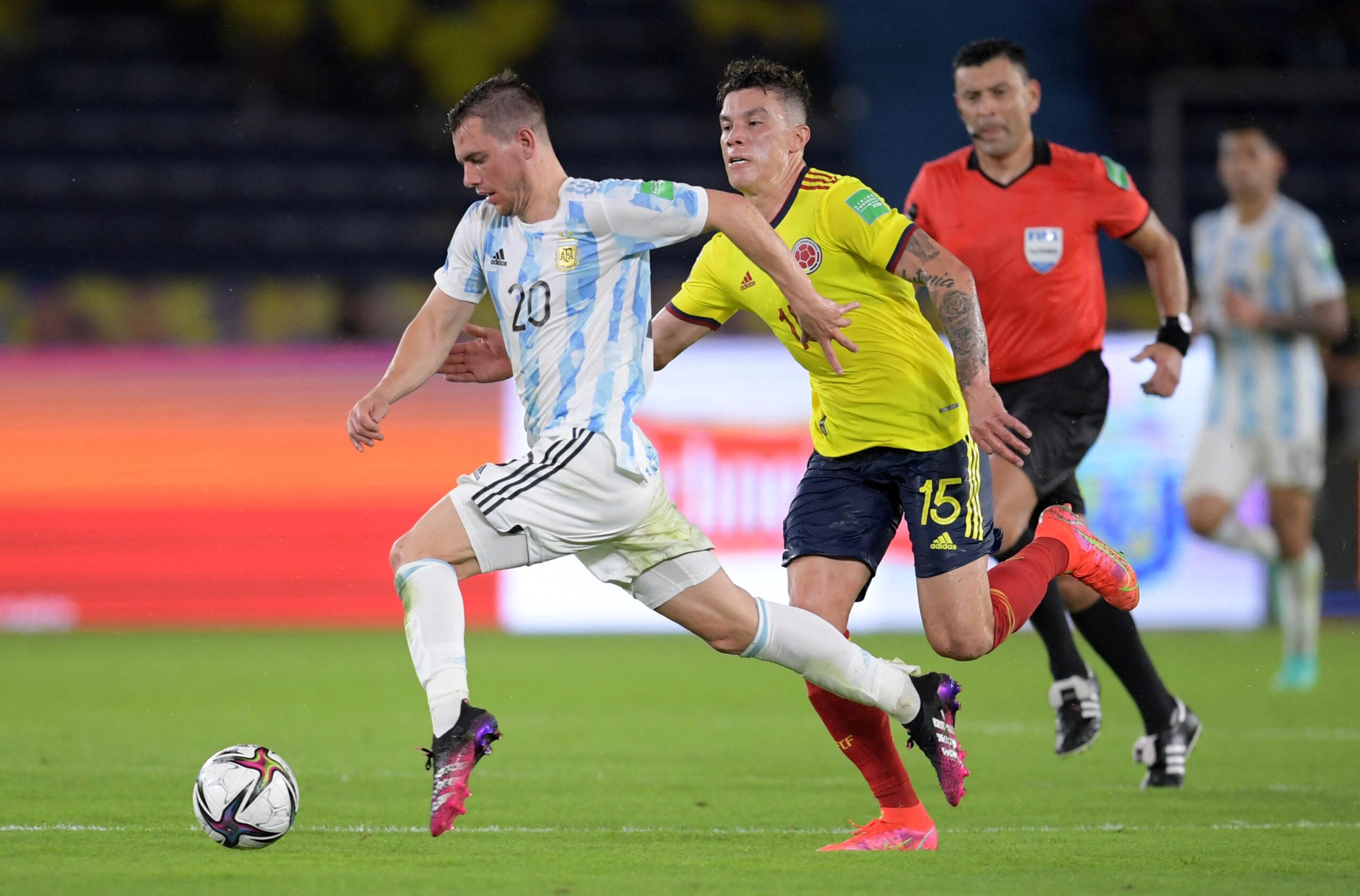 Colômbia e Argentina empatam pelas eliminatórias