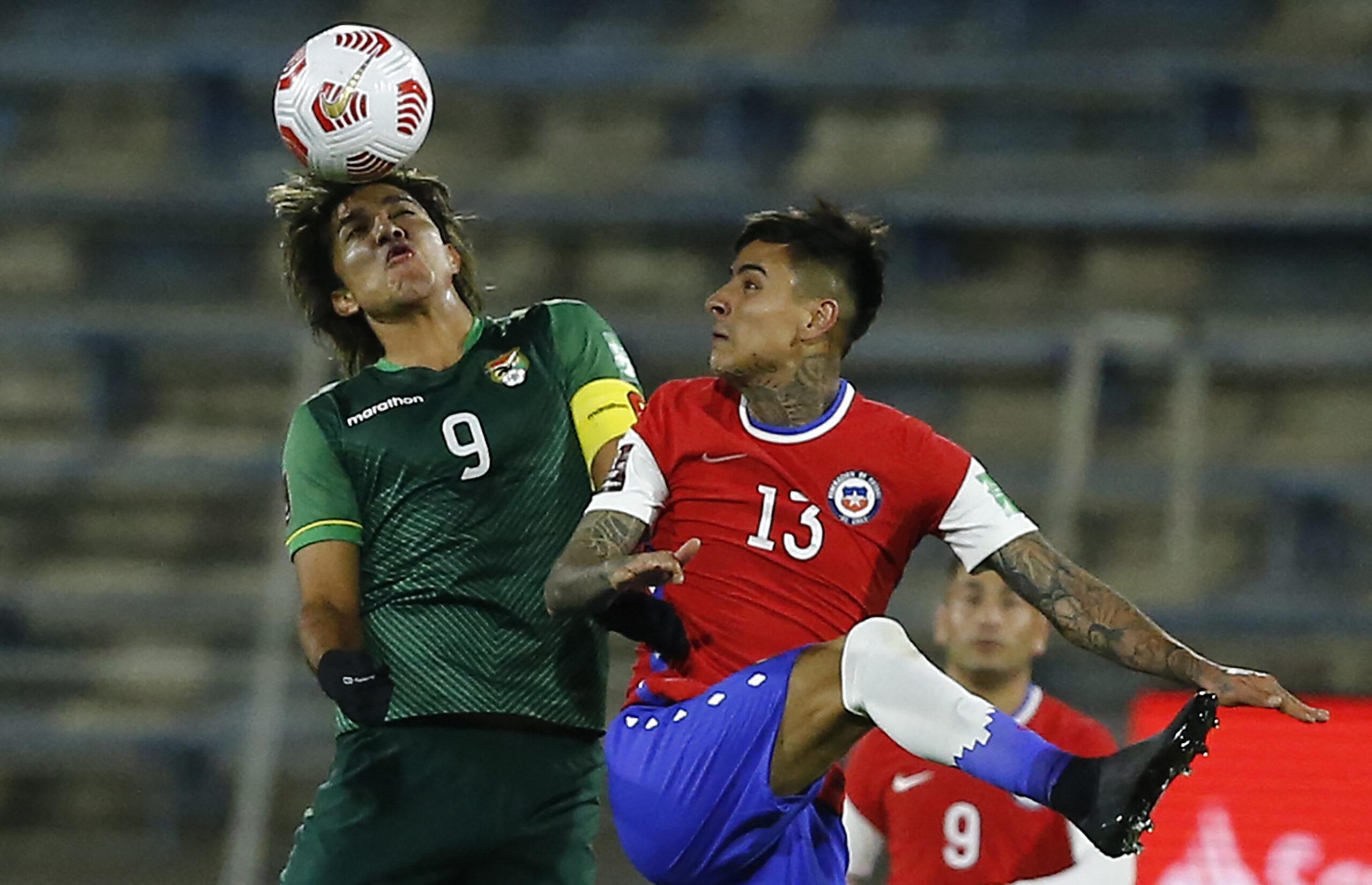 Chile empata com a Bolívia
