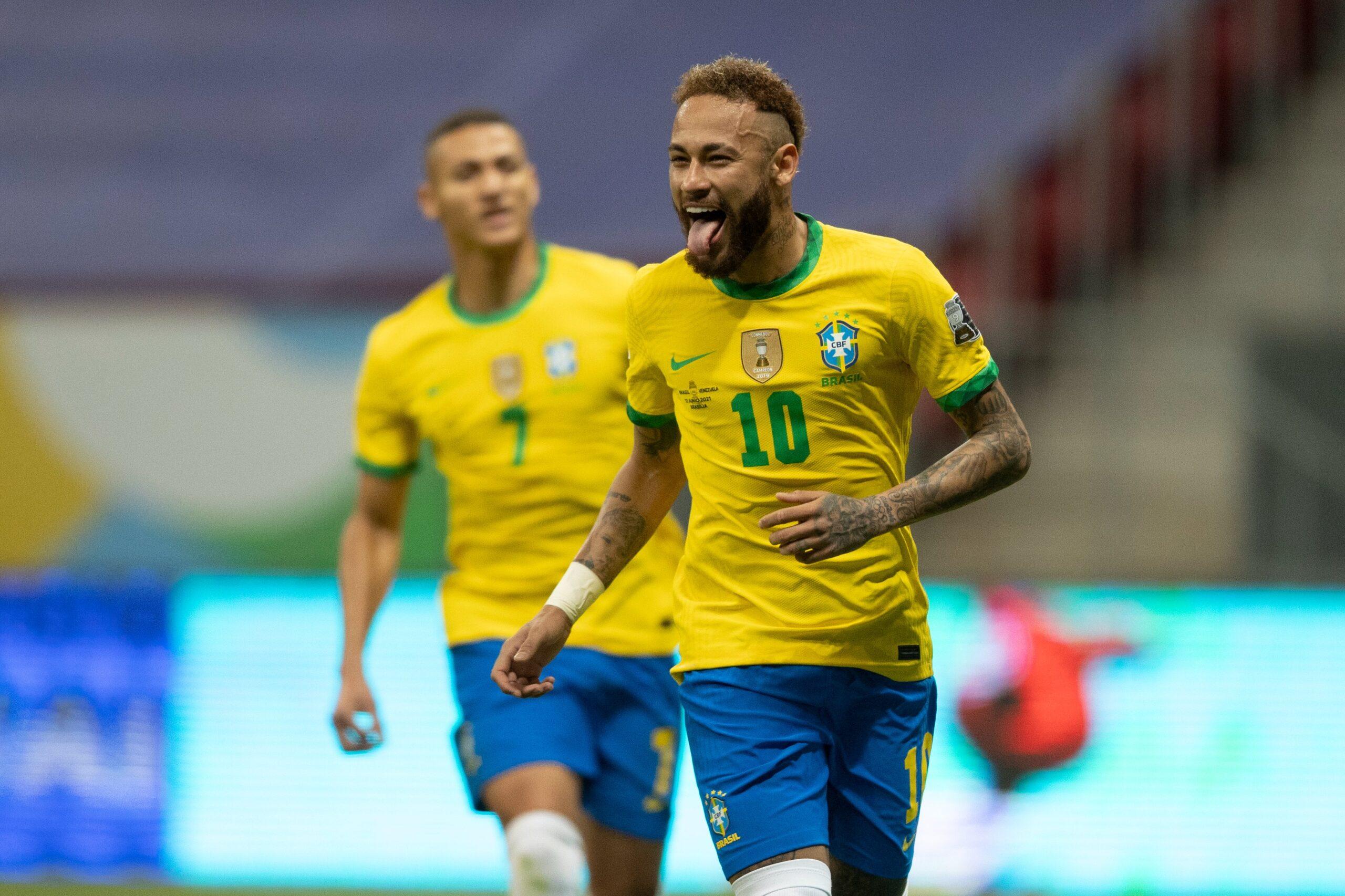 Brasil vence a Venezuela na abertura da Copa América