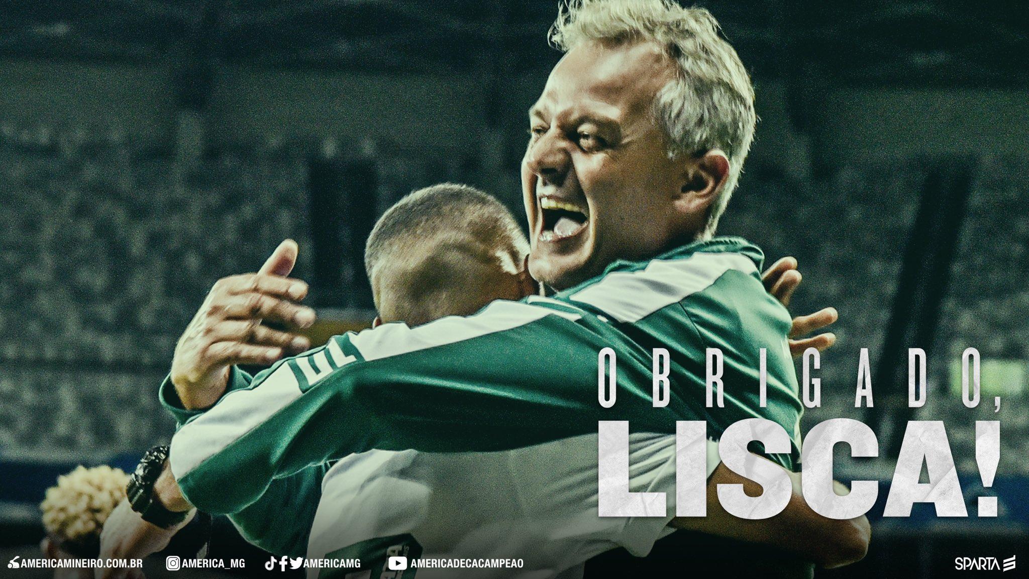 Lisca não é mais o treinador do América Mineiro