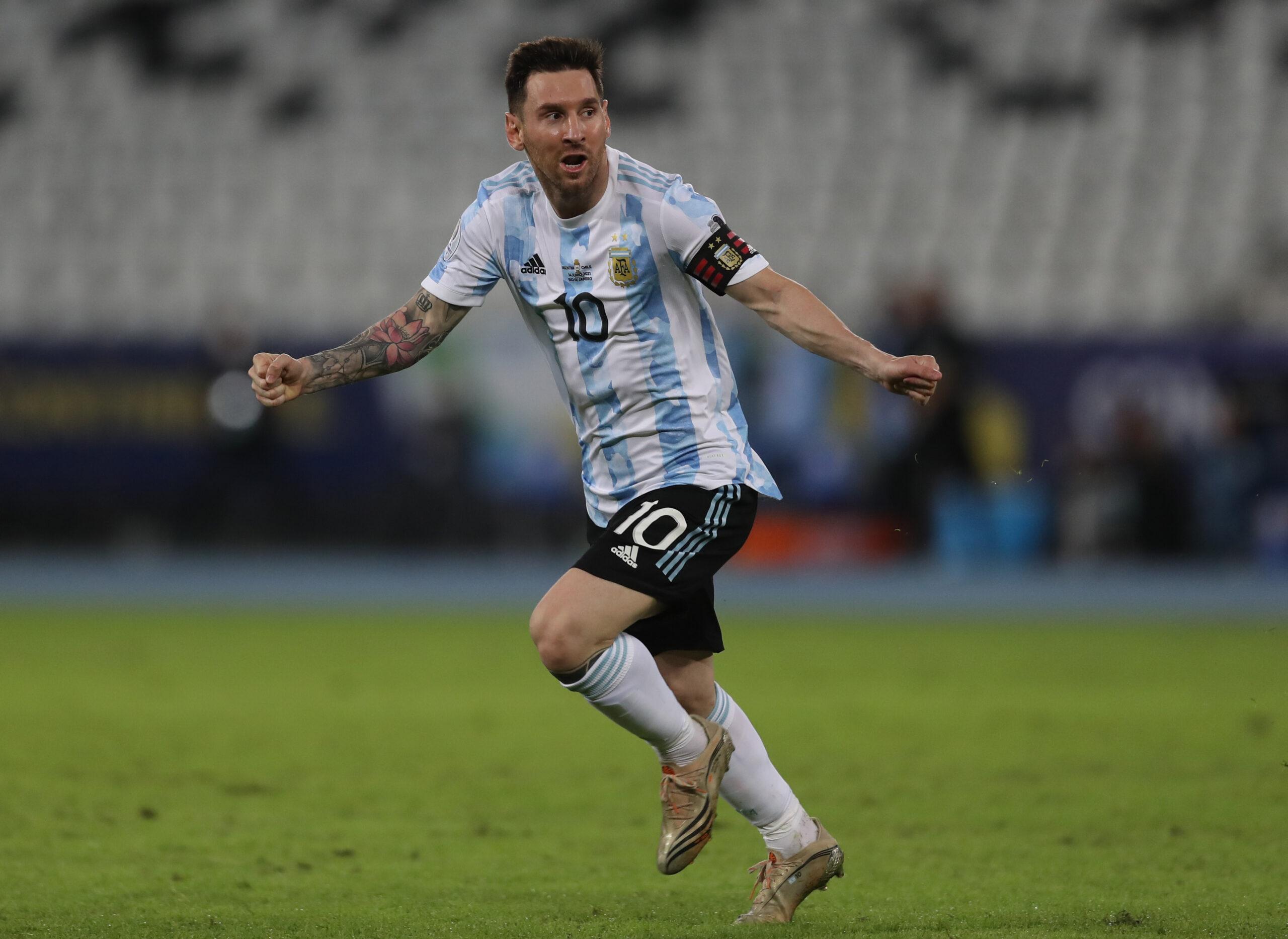 Argentina e Chile ficam no empate