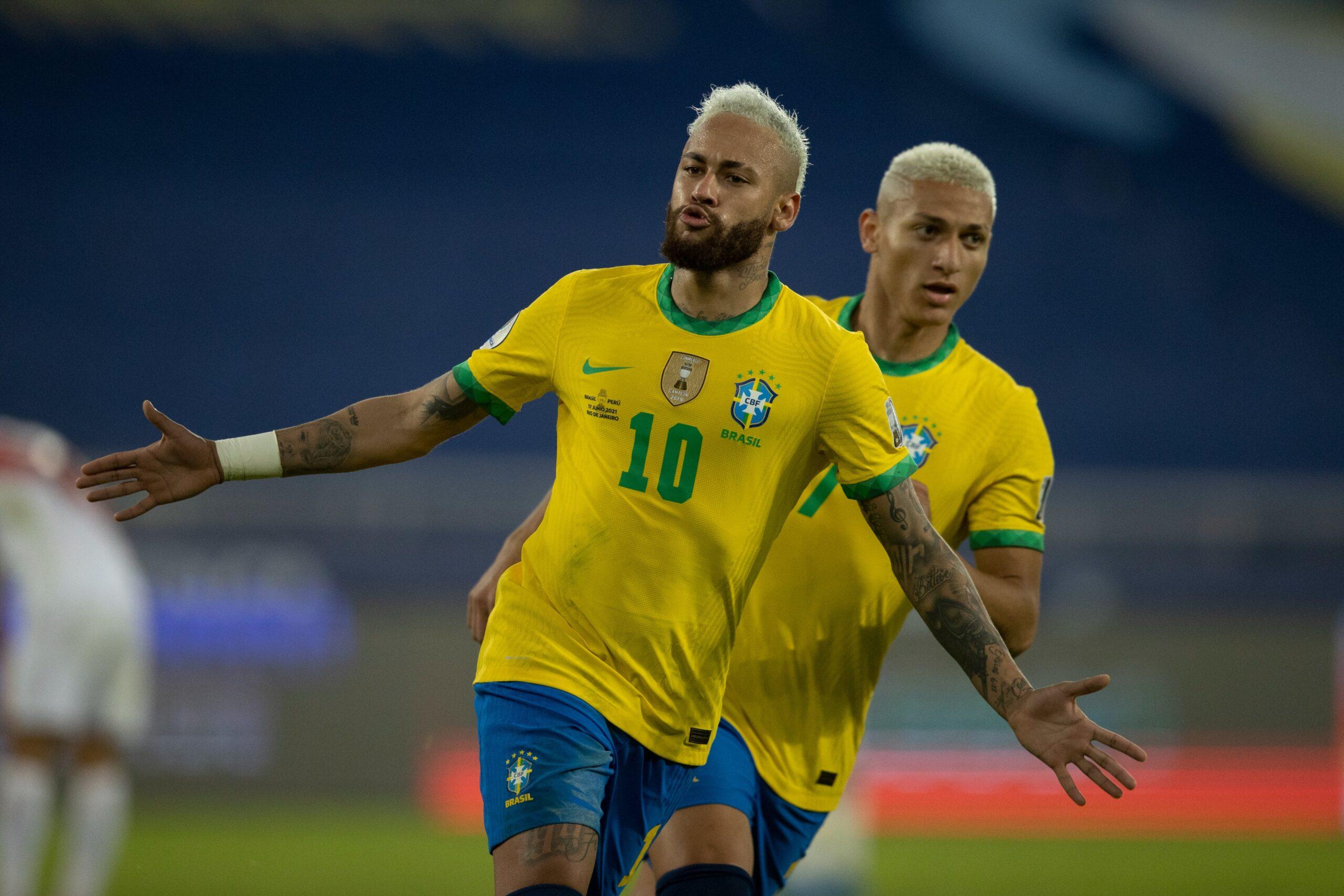 Brasil goleia o Peru pela Copa América