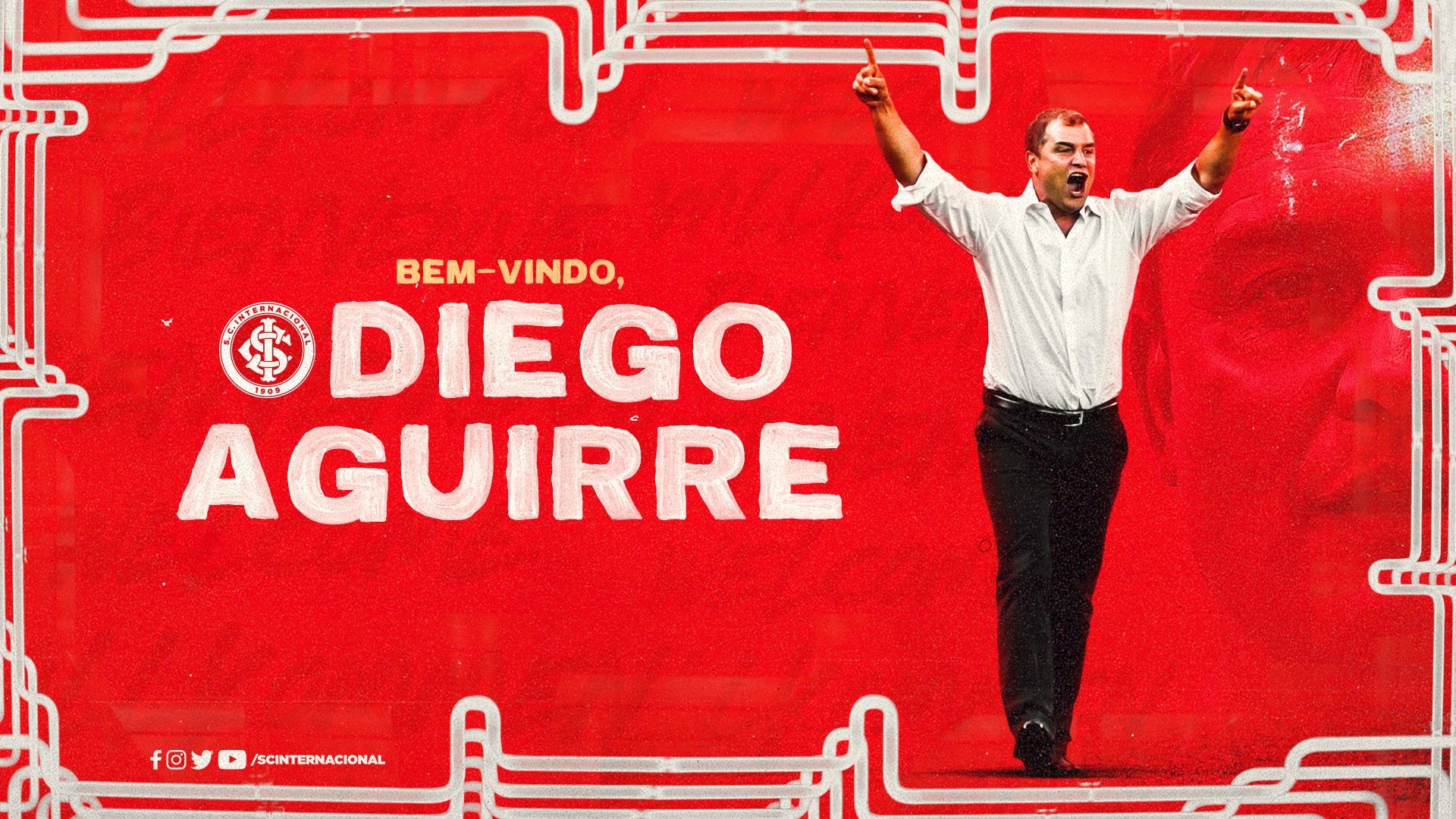 Diego Aguirre é o novo treinador do Internacional