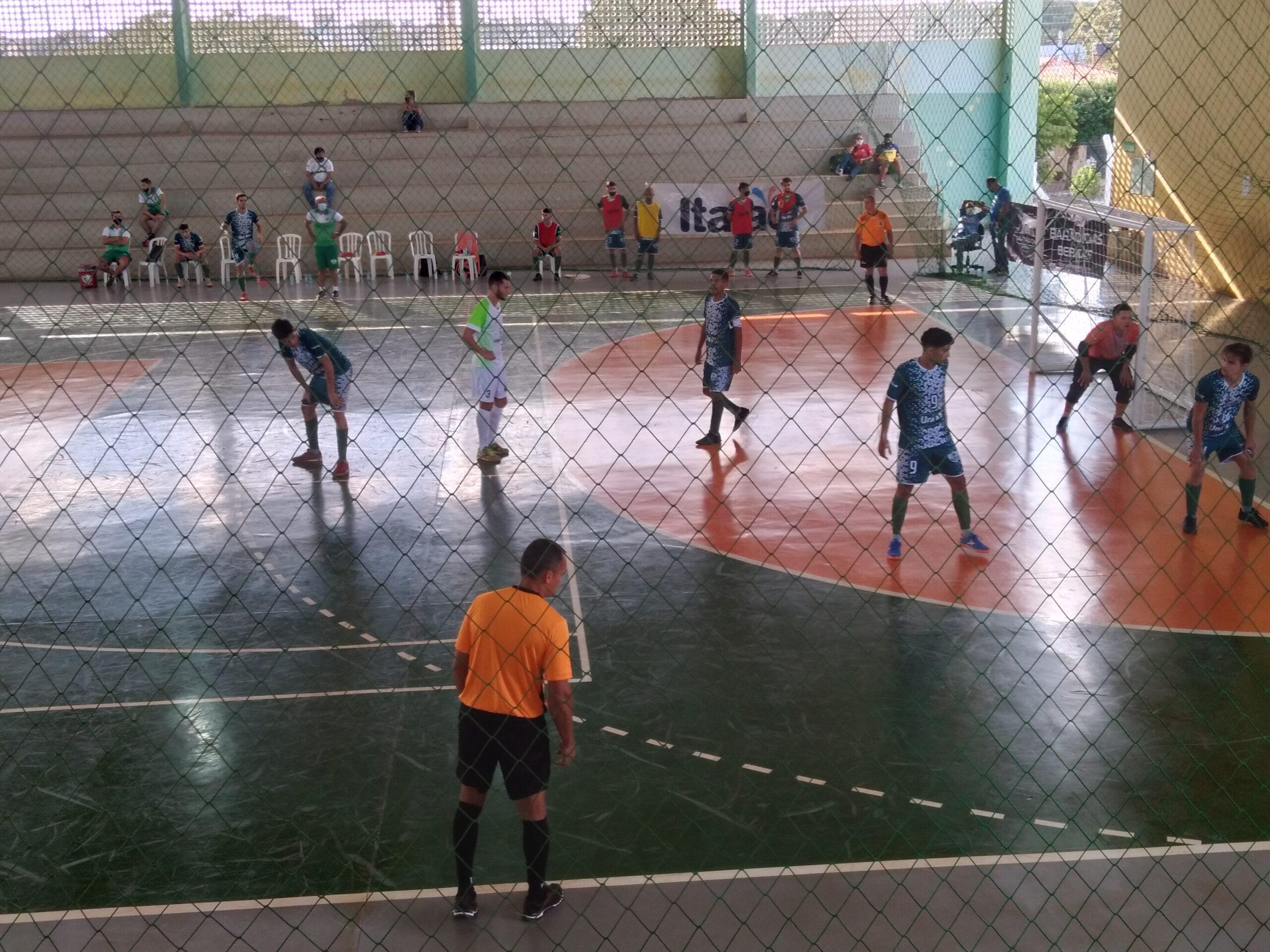 Unirv estreia com derrota na Copa Goiás de Futsal adulto masculino