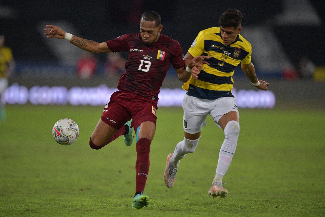 Venezuela e Equador empatam pela Copa América