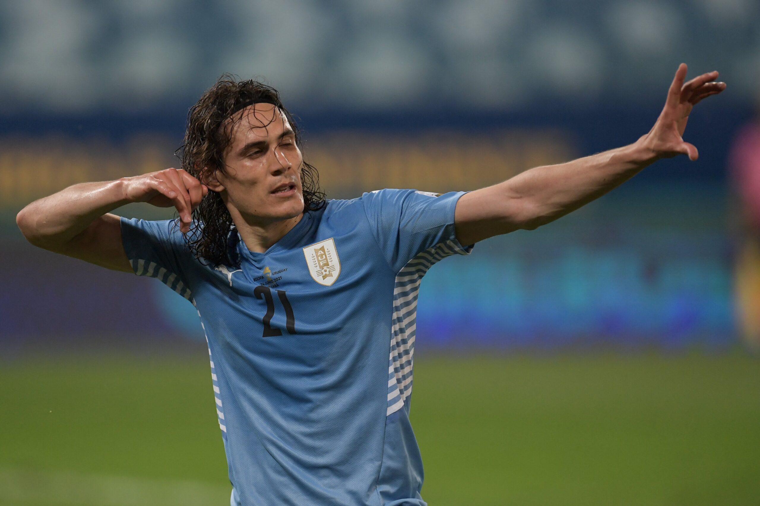 Uruguai vence a Bolívia e se classifica na Copa América