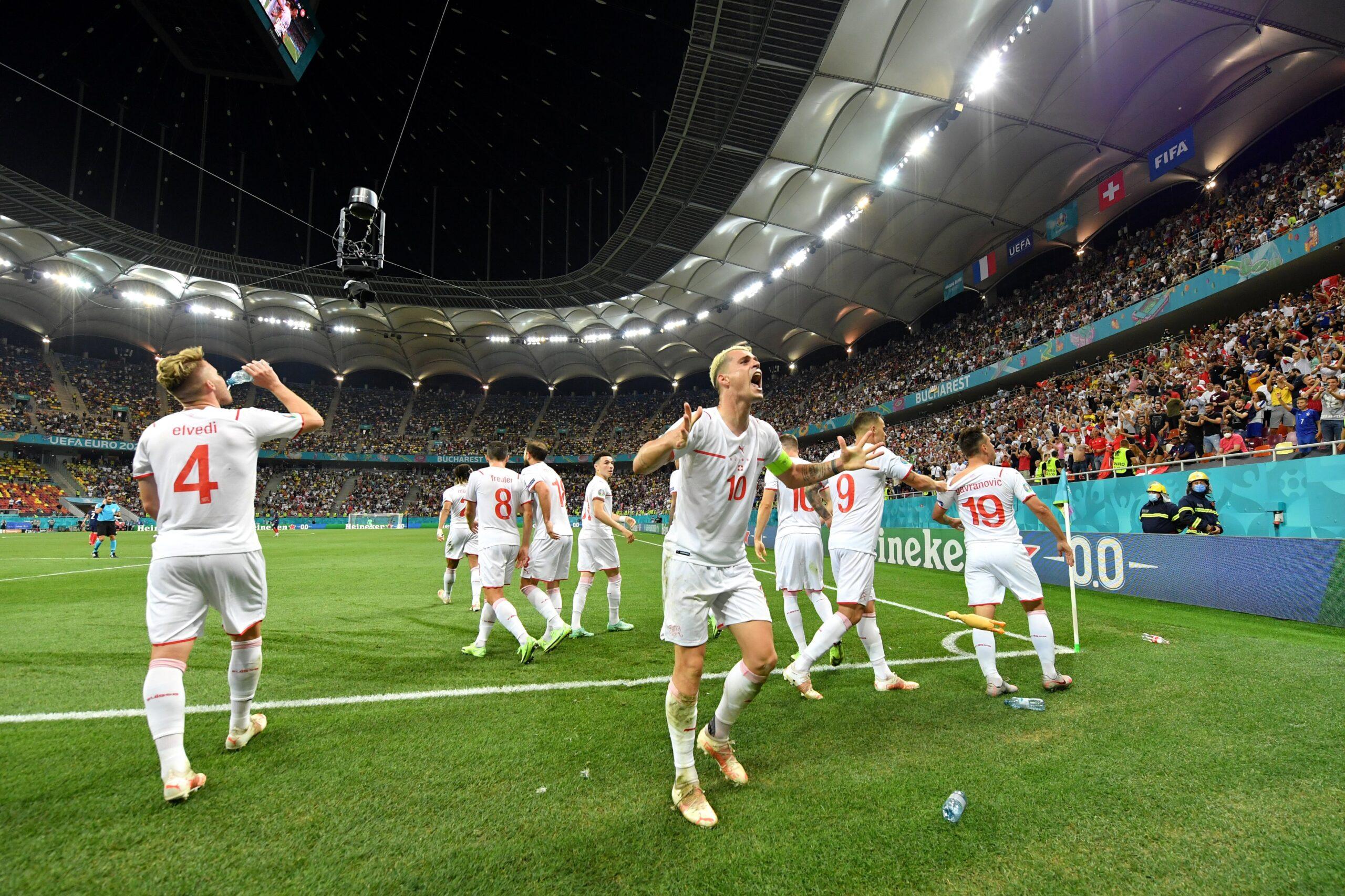 Suíça vence a França nos pênaltis e se classifica na Eurocopa