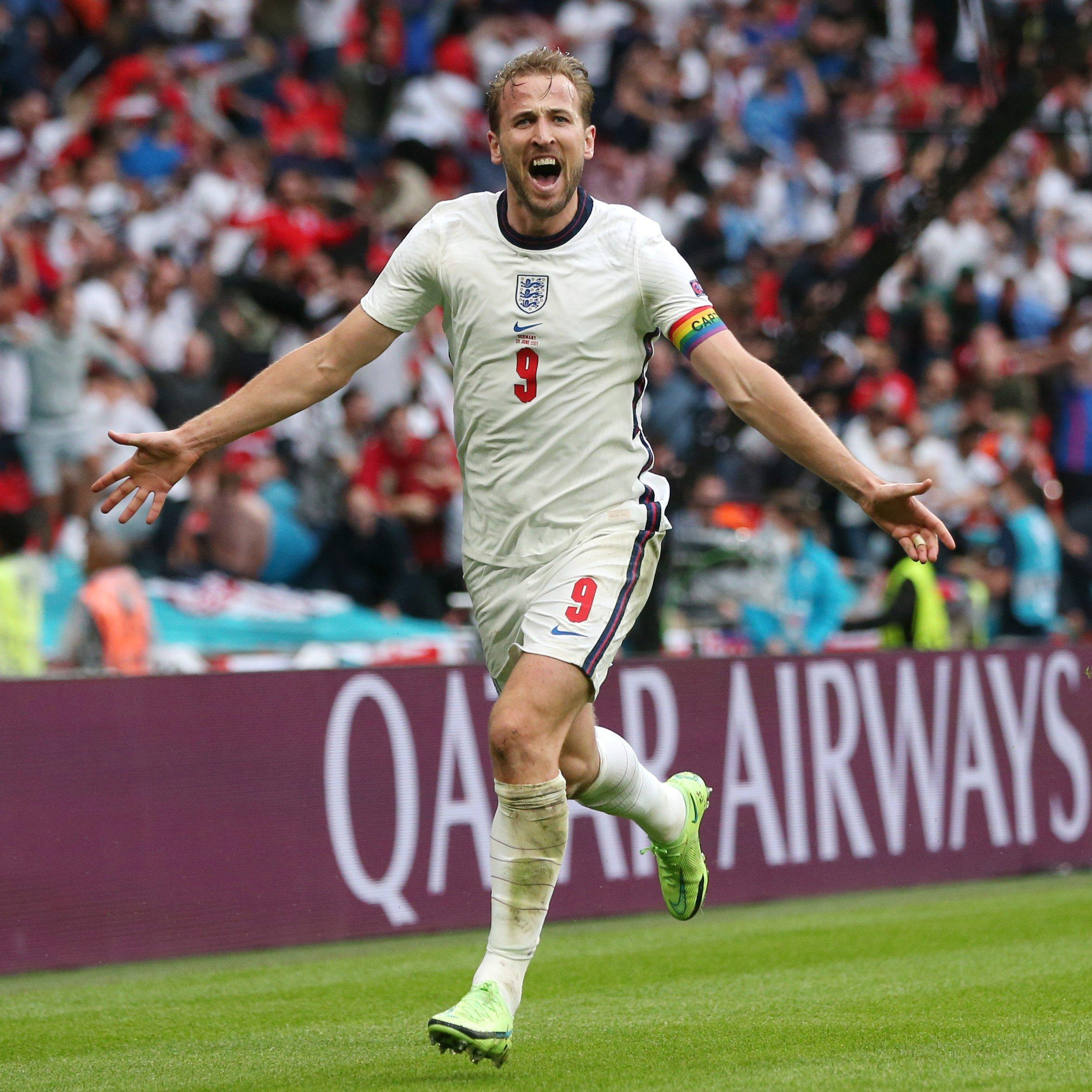 Inglaterra vence a Alemanha e se classifica na Eurocopa
