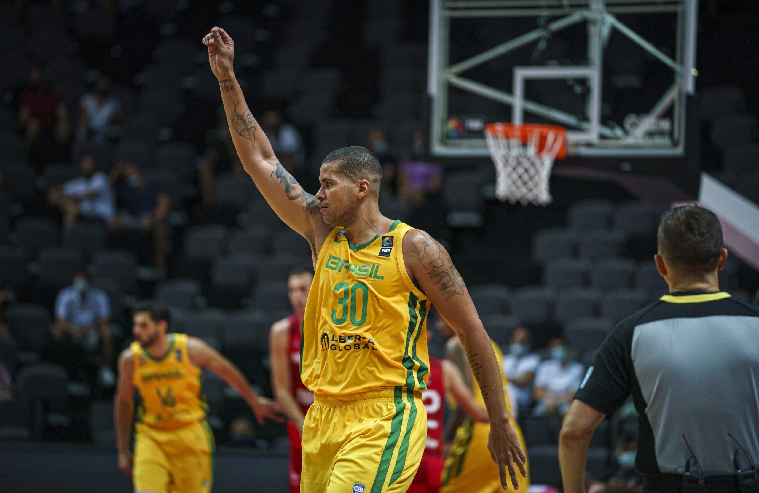 Brasil vence a Croácia no pré-olímpico de basquete