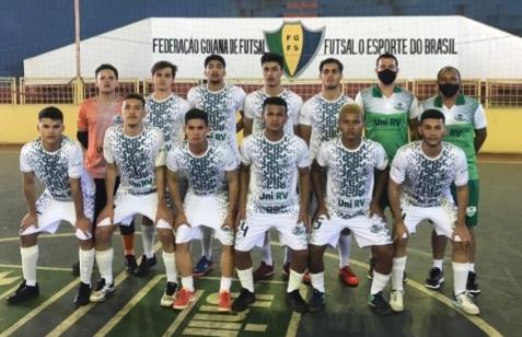 Unirv estreia  com vitória na Copa Goiás de Futsal Sub-20