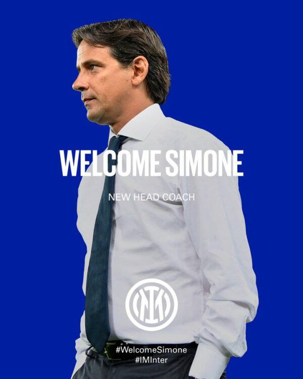 Internazionale de Milão oficializa treinador para a temporada