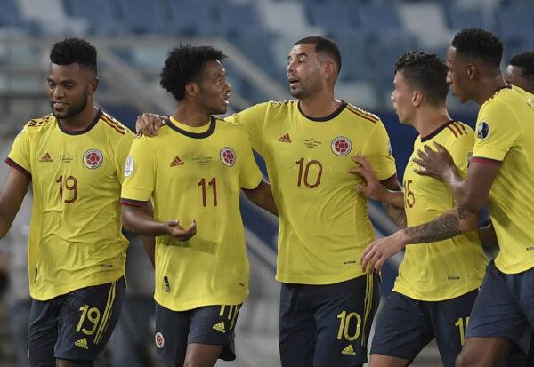 Colômbia estreia com  vitória na Copa América