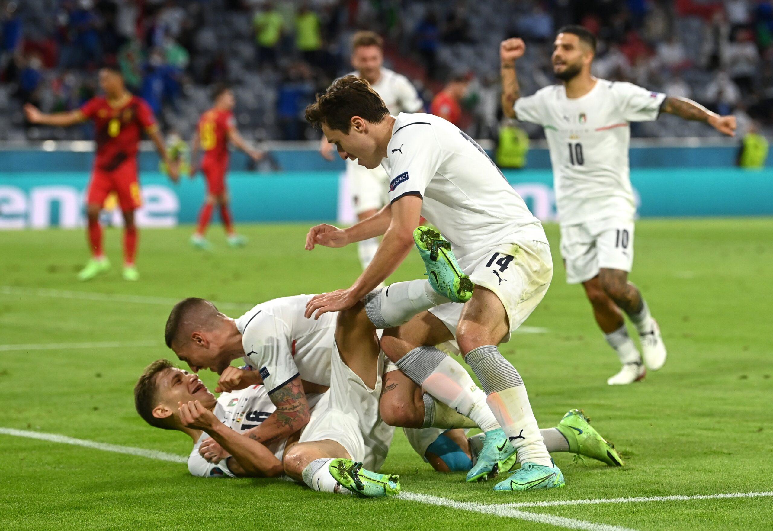 Espanha e Itália estão as semifinais da Eurocopa
