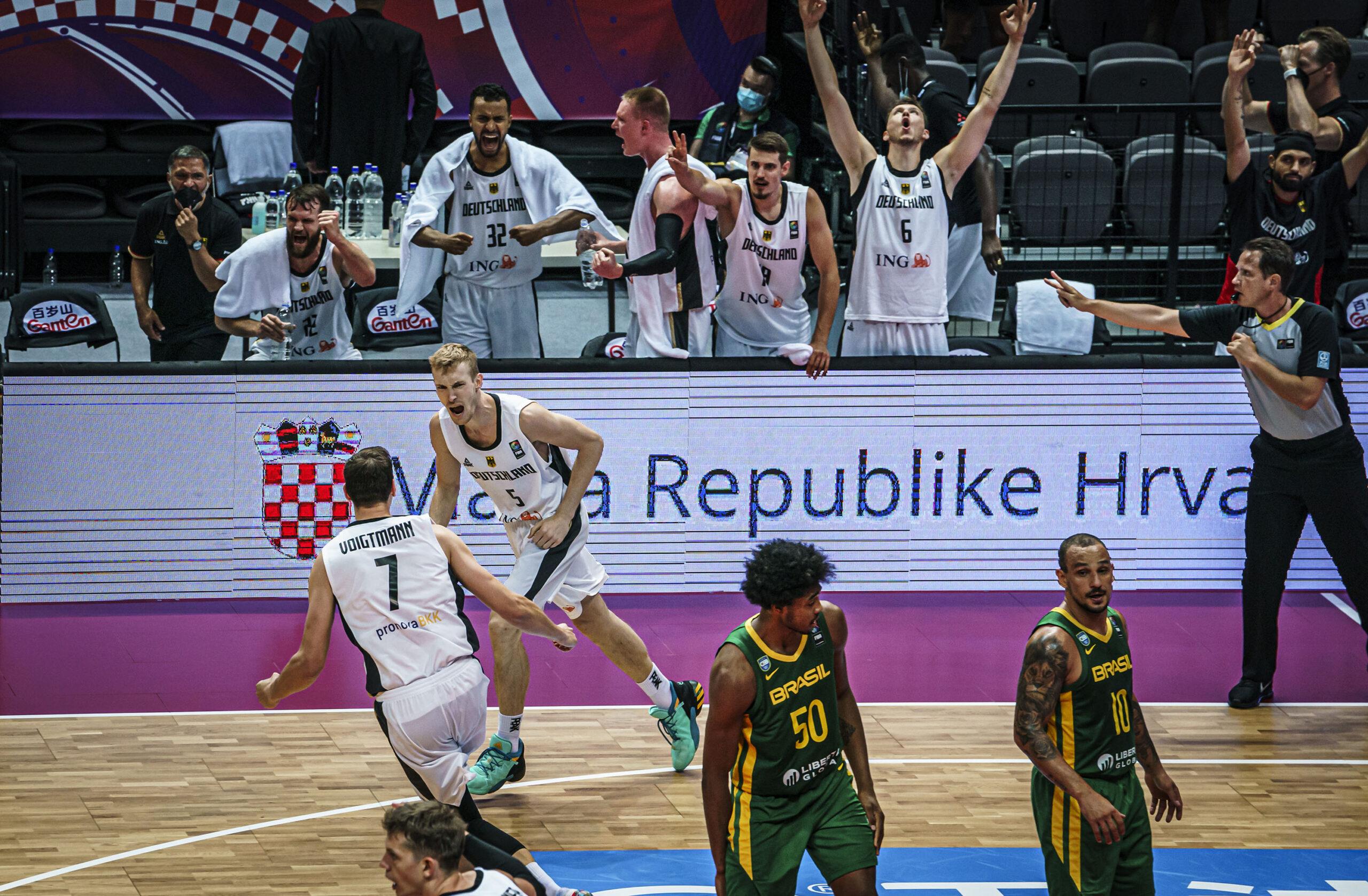Brasil perde para a Alemanha e está fora das olimpíadas