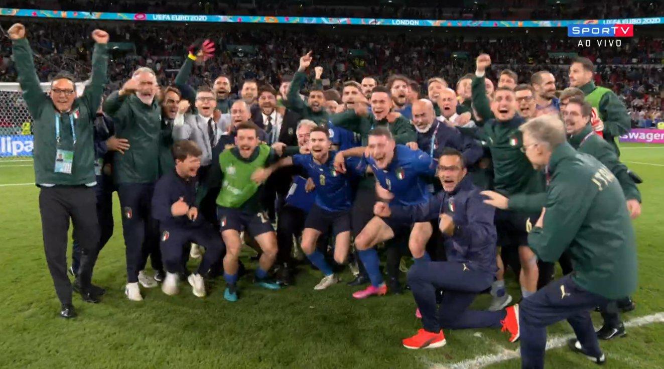 Nos pênaltis Itália vence a Espanha e chega a final da Eurocopa