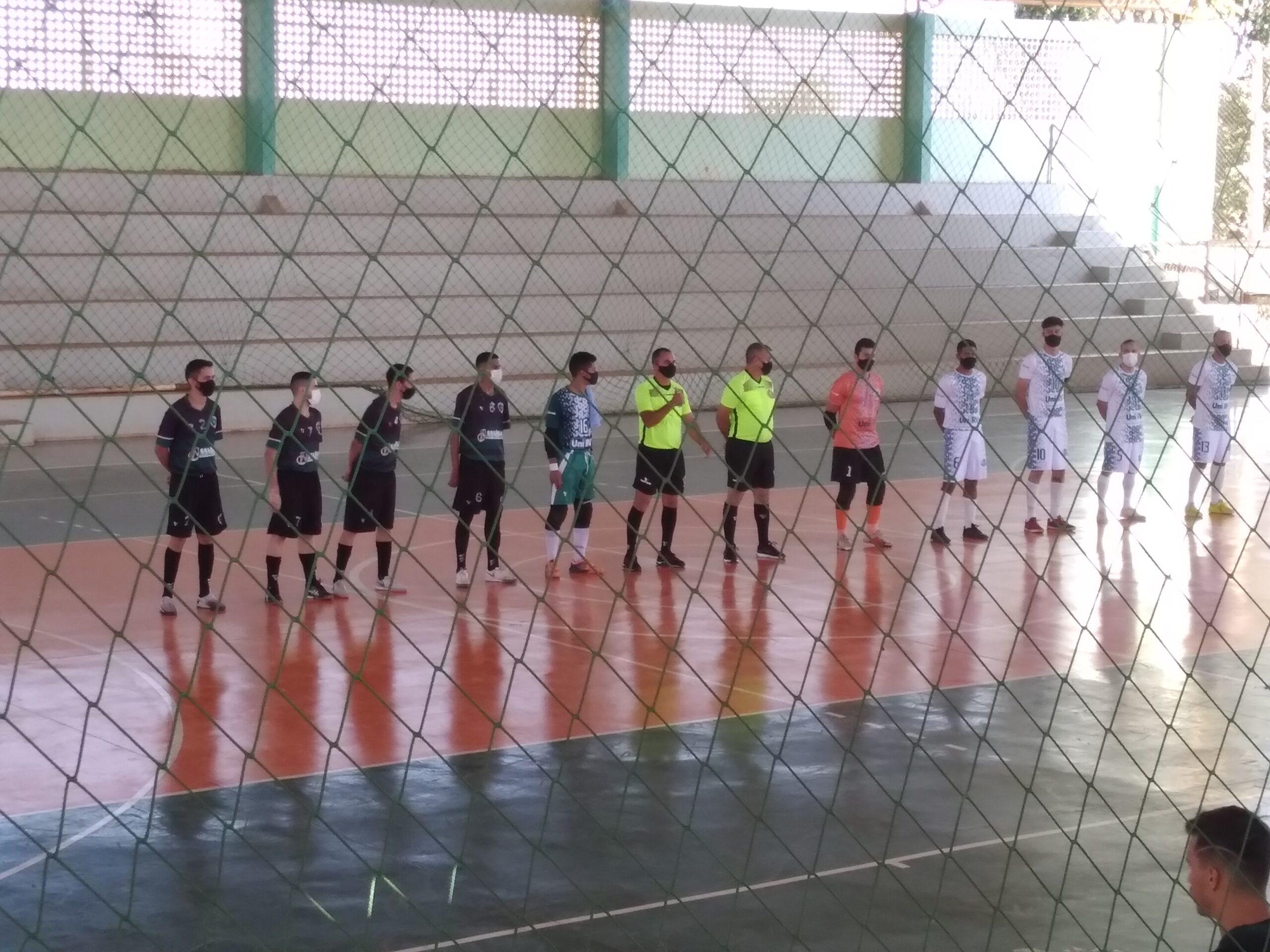 Unirv goleia o Araguaia na Copa Goiás de Futsal