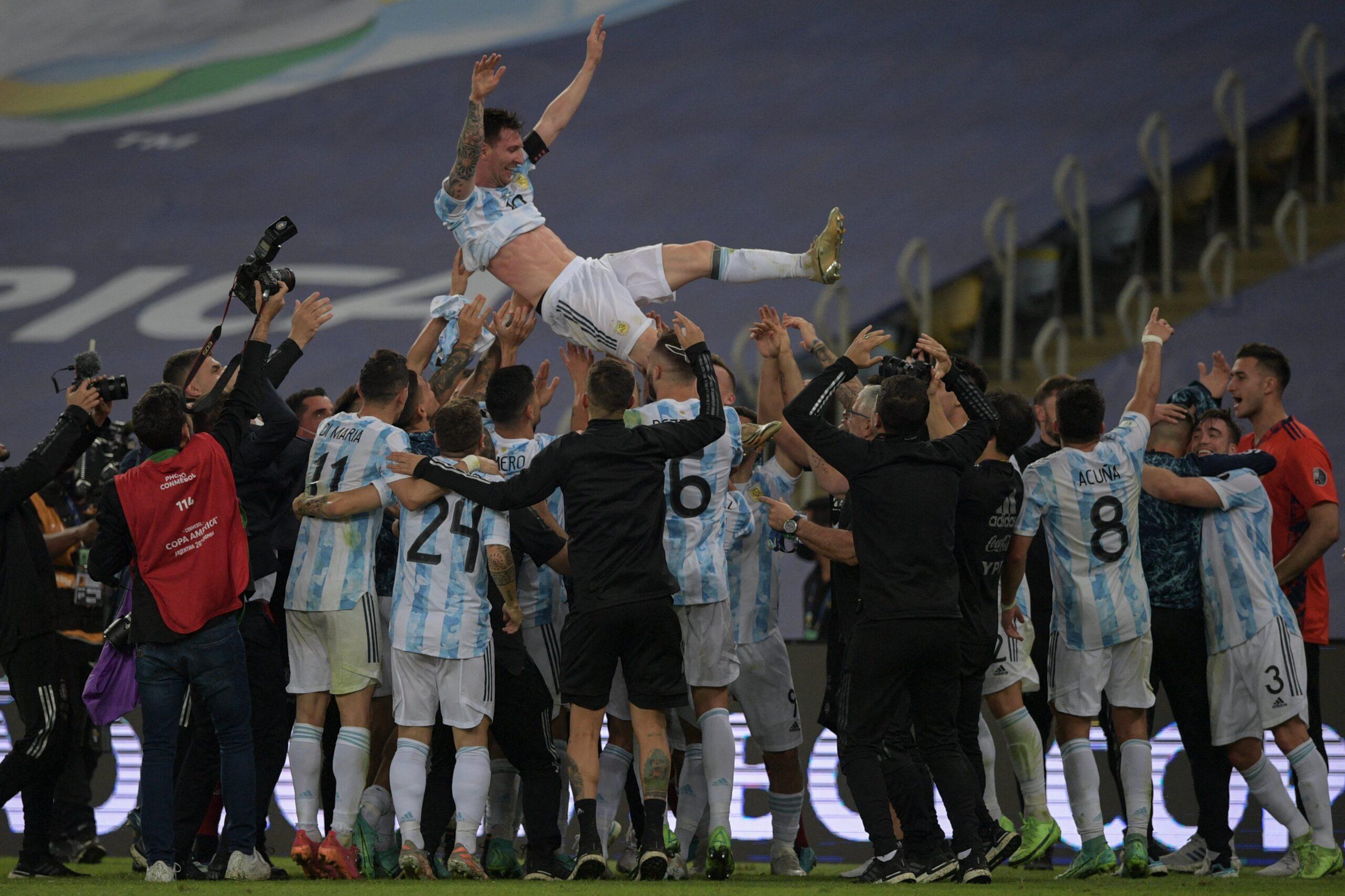 Argentina vence o Brasil e conquista a Copa América
