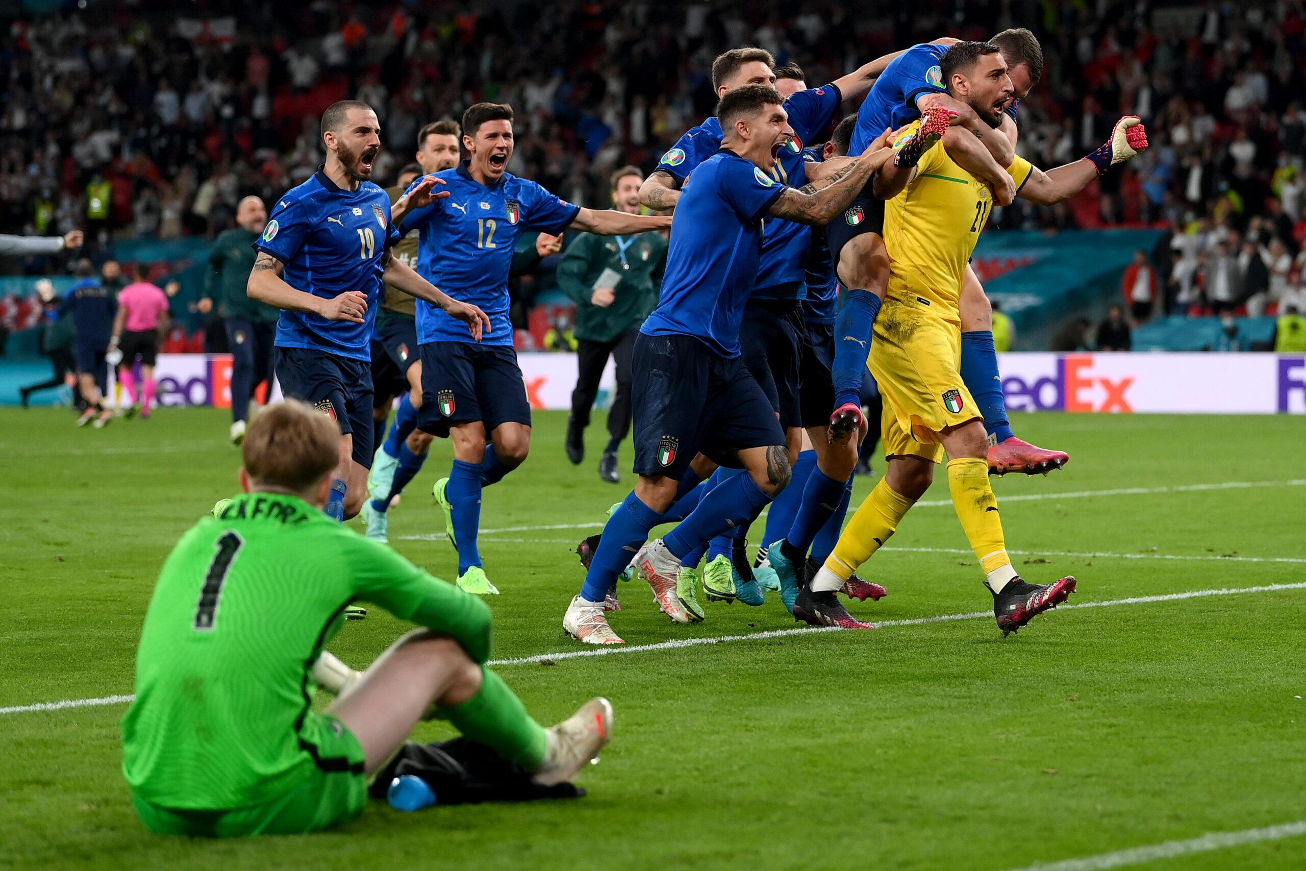 Itália vence a Inglaterra nos pênaltis e conquista a Eurocopa