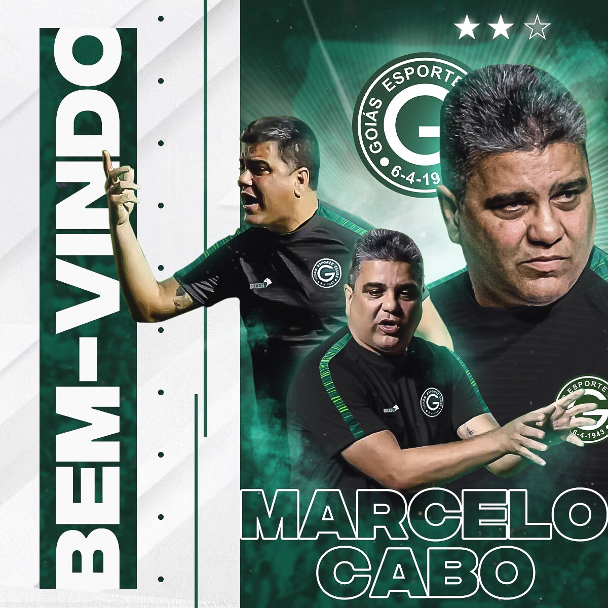 Marcelo Cabo é o novo treinador do Goiás