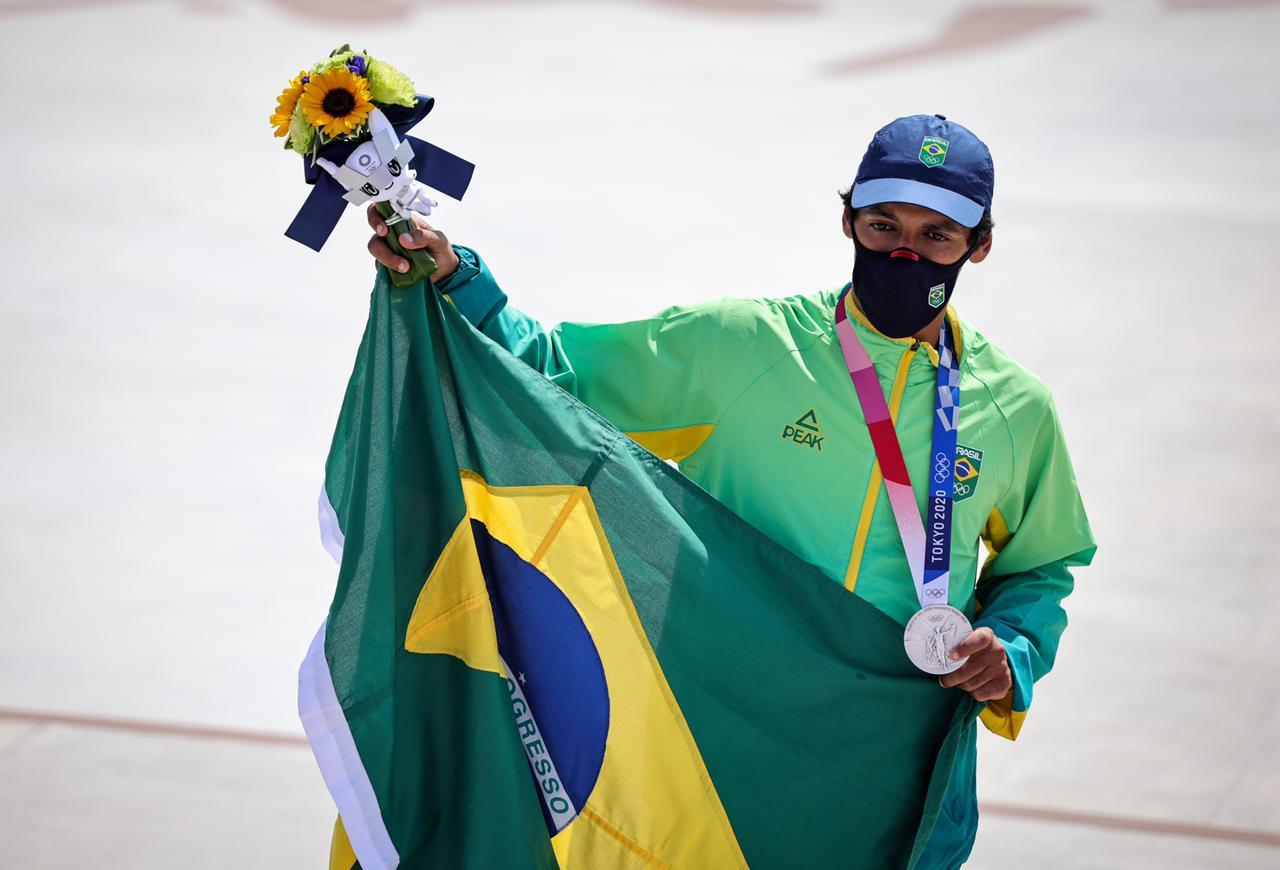 Brasil conquista primeira medalha em Tóquio