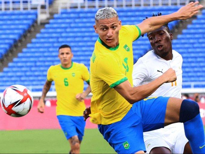 Brasil empata com Costa do Marfim no futebol masculino