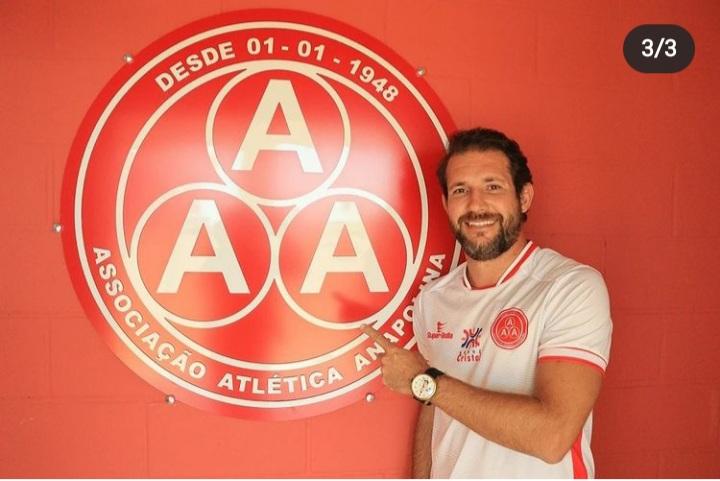 Anapolina confirma treinador para a Divisão de Acesso