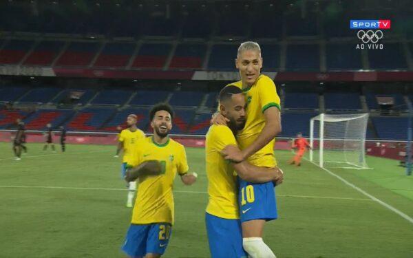 Brasil goleia a Alemanha nas Olimpíadas de Tóquio