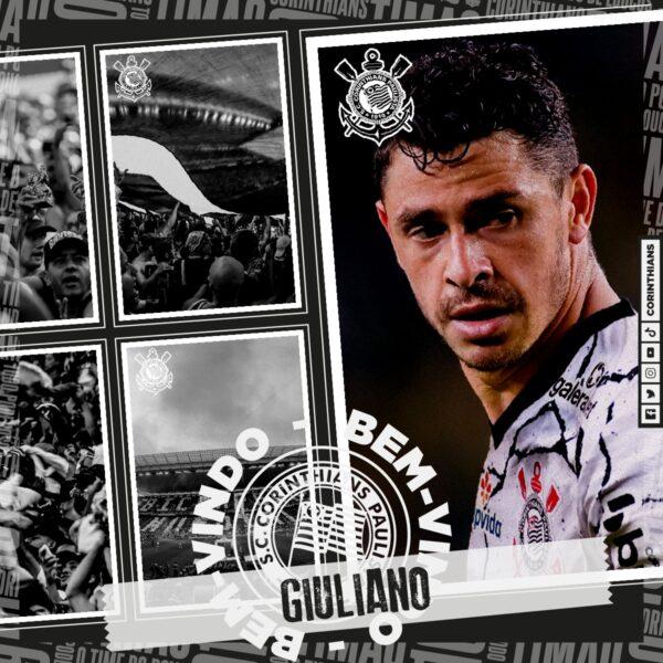 Corinthians acerta com meia Giuliano
