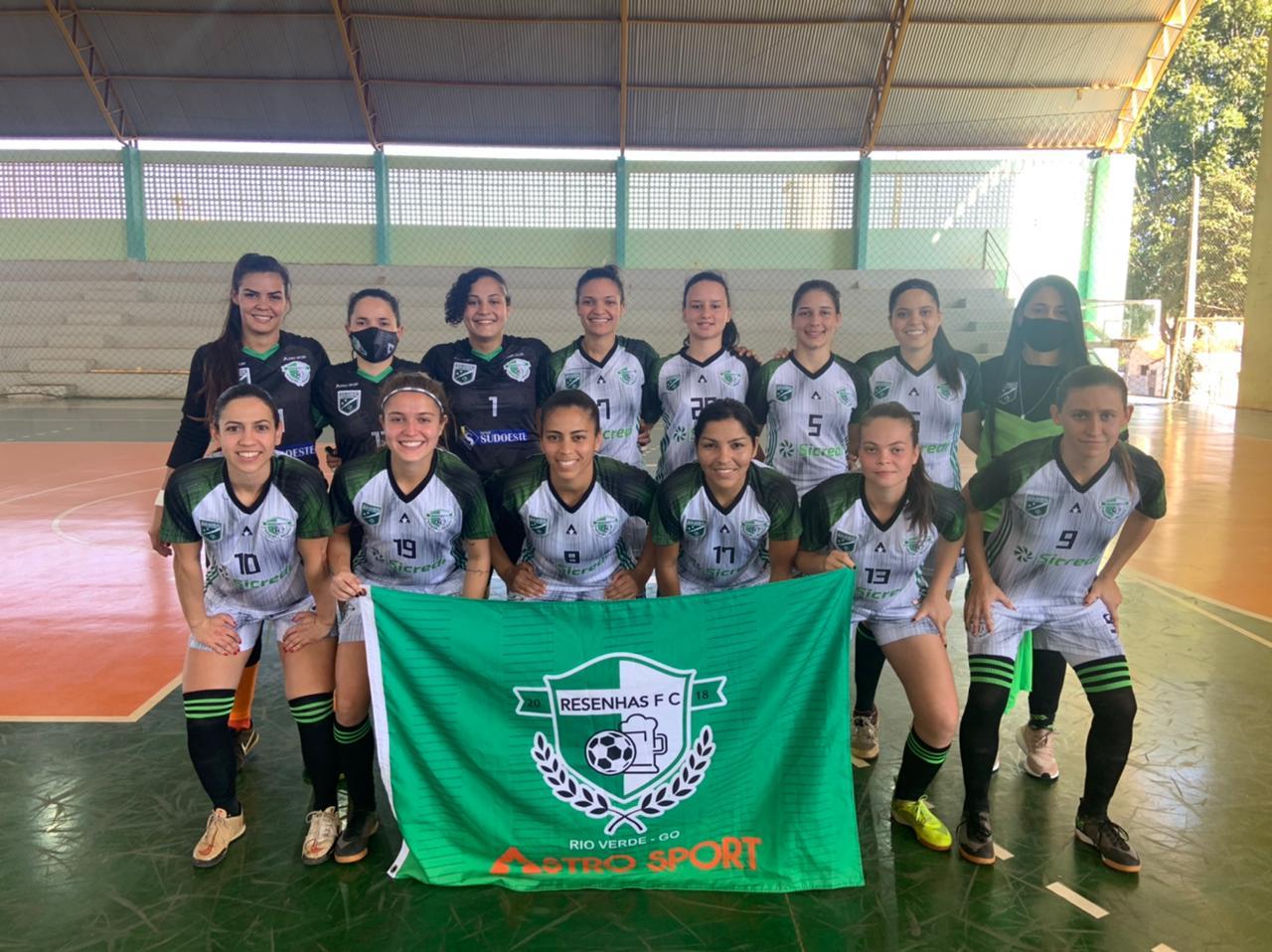 Campestre/Resenhas decidirá em casa a Copa Goiás de Futsal