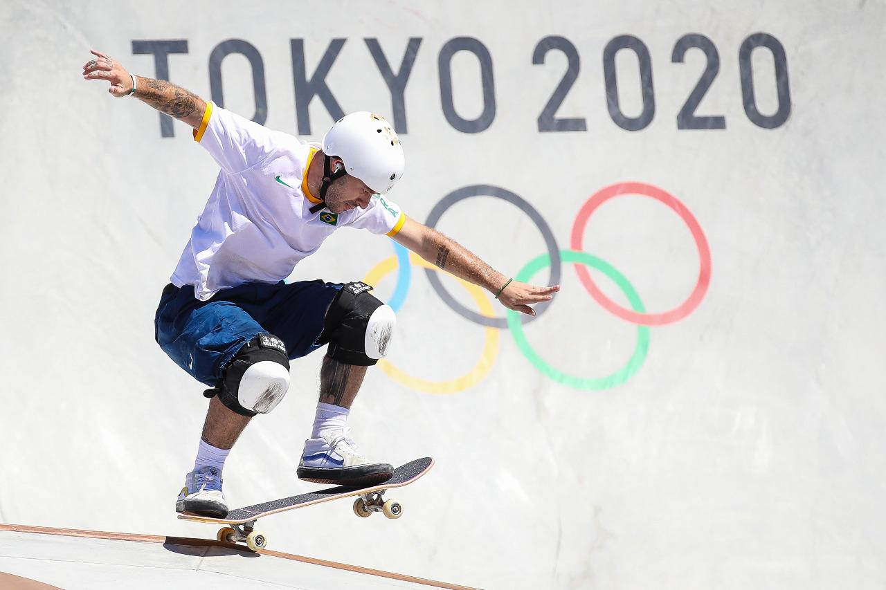 Brasil conquista mais uma medalha de prata no Skate
