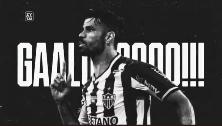Diego Costa é o novo reforço do Atlético Mineiro