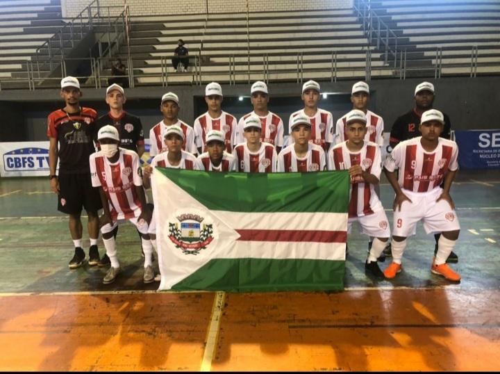 Serp estreia com vitória na Taça Brasil de Futsal Sub-15
