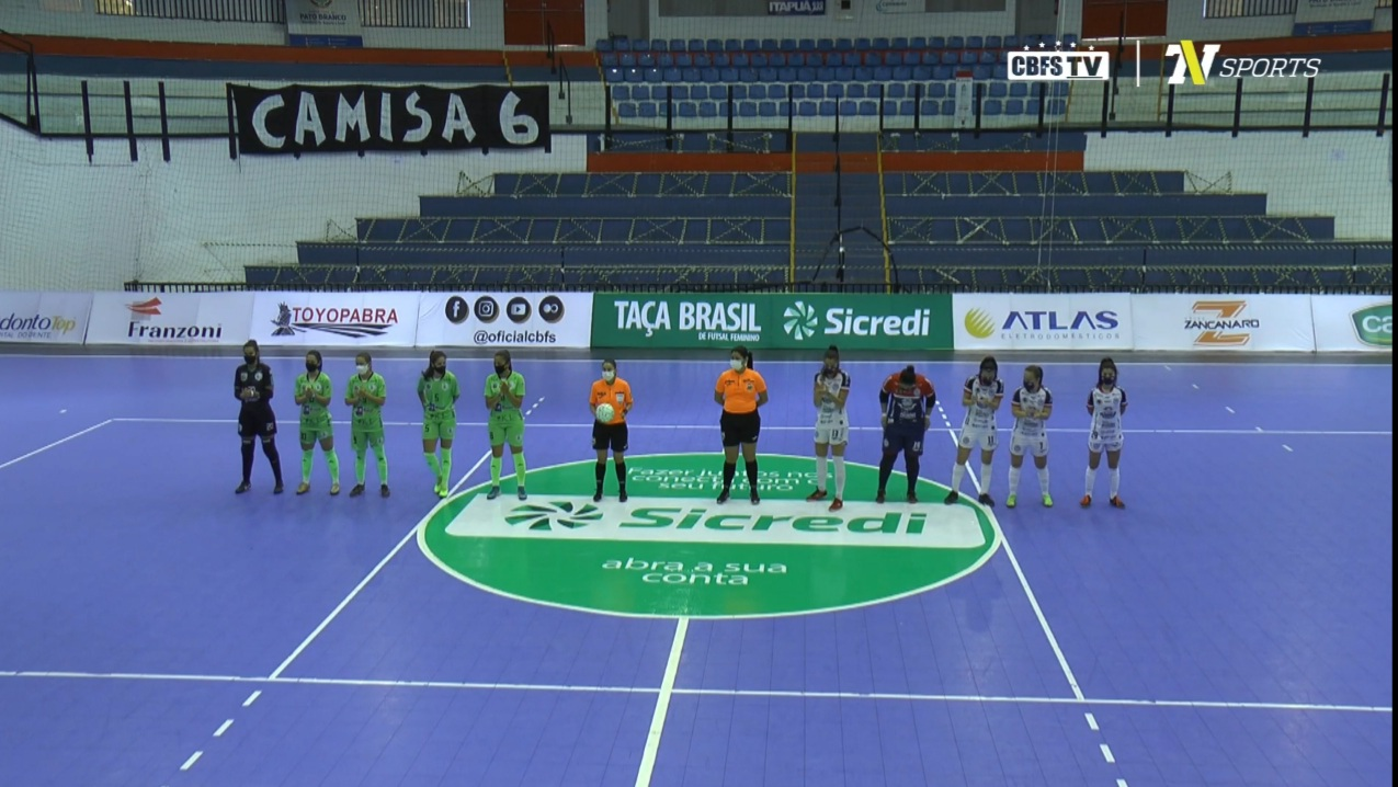 Clube Campestre/Resenhas perde de virada na Taça Brasil de Futsal