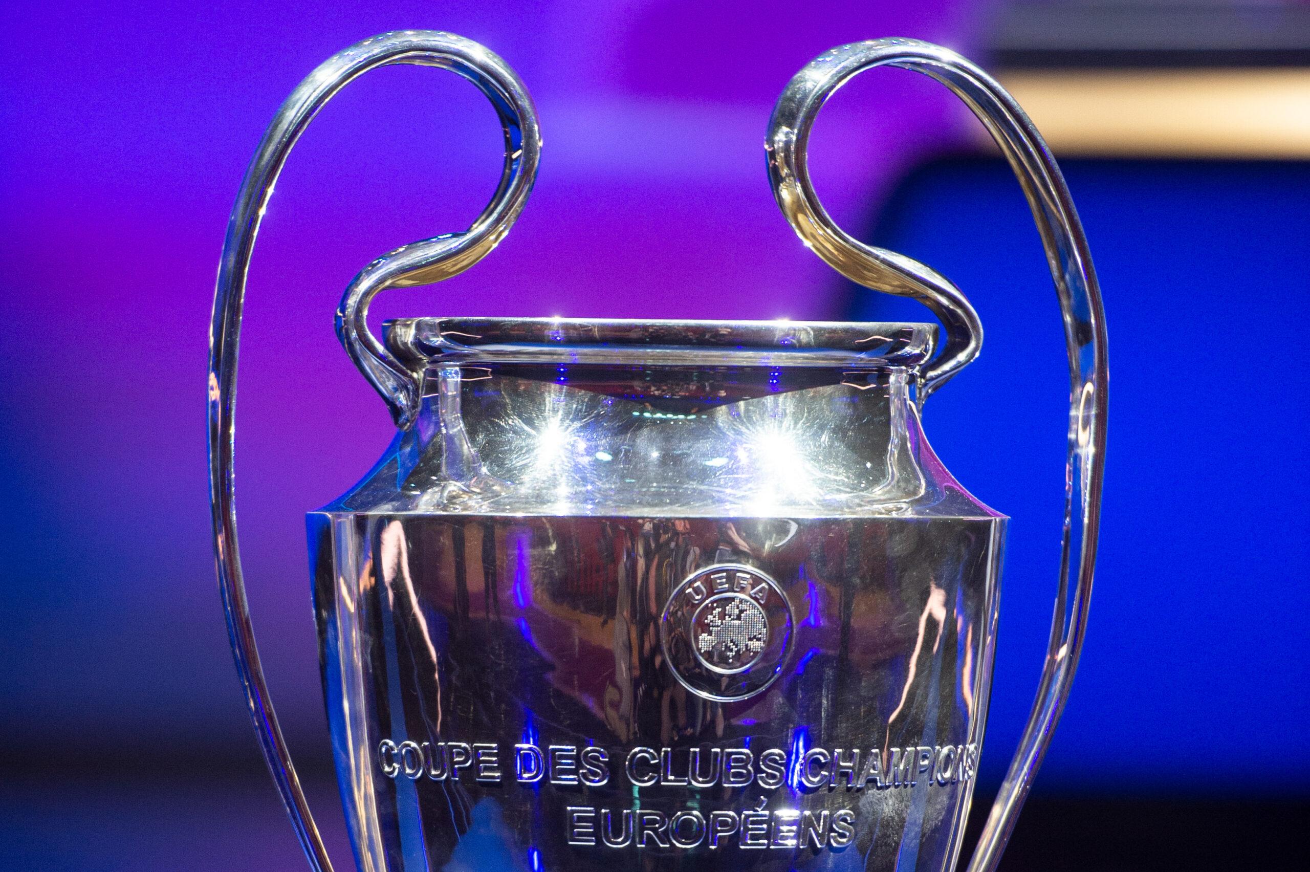 Confira os grupos da Liga dos Campeões da Europa