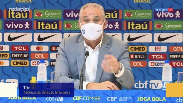 Tite convoca a seleção brasileira para os três jogos das eliminatórias em setembro