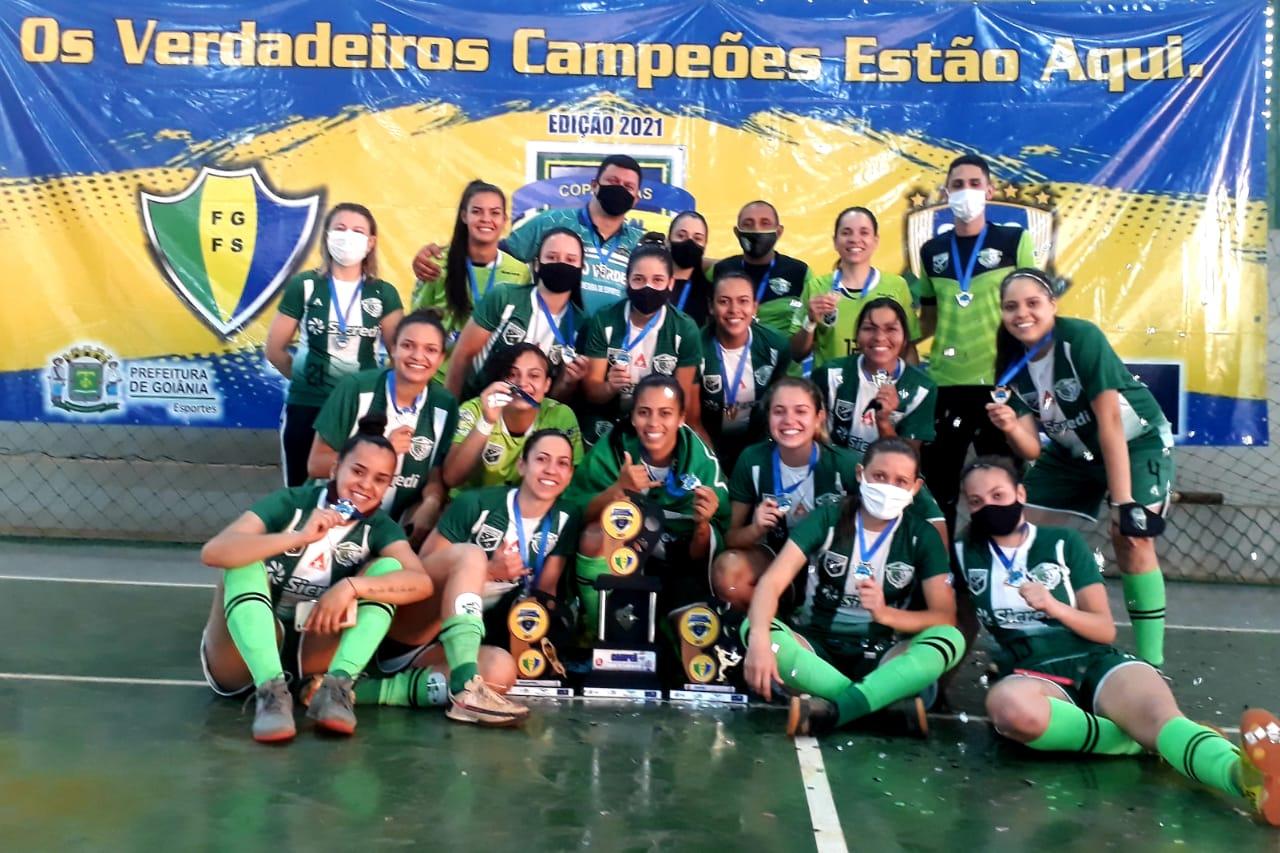 Campestre/Resenhas vence o Vila Nova e conquista a Copa Goiás de Futsal