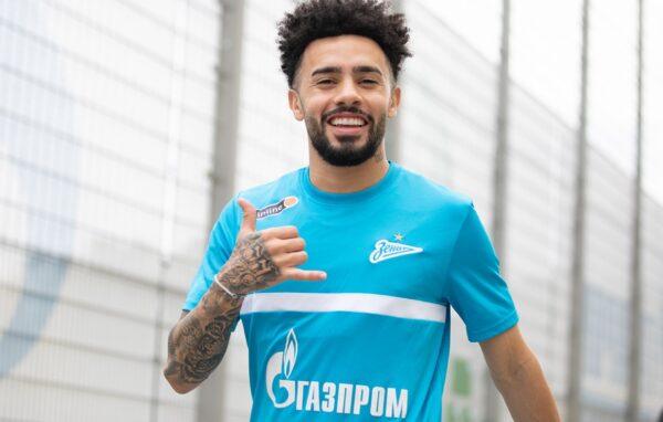 Zenit oficializa chegada do meia Claudinho