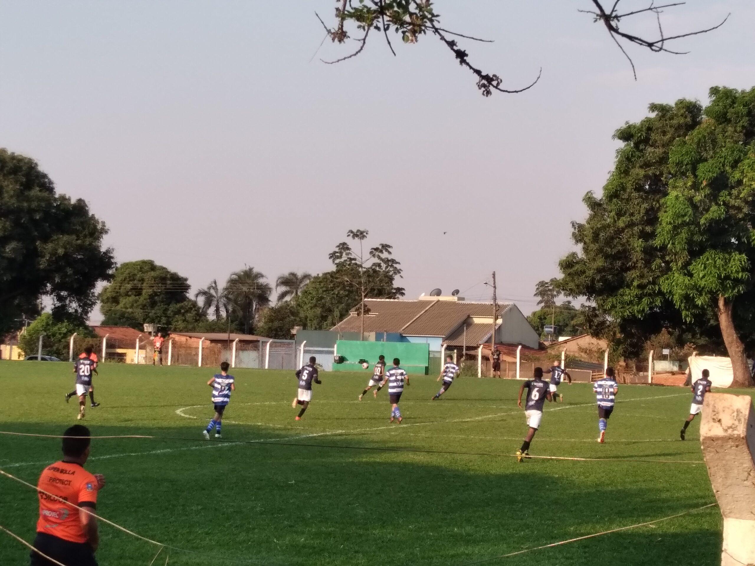 Independente vence a segunda no Campeonato Goiano Sub-15
