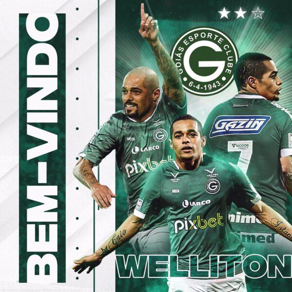 Goiás acerta o retorno do atacante Wellinton