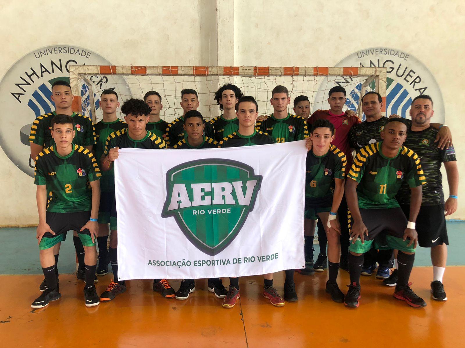 AERV estreia com vitória no Campeonato Brasileiro de Handebol Juvenil